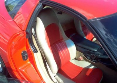 chevy corvette seats custom