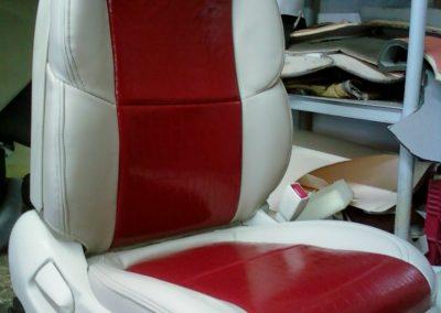 lexus seat red croc lipstick