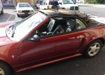 2003 convertible top mustang before